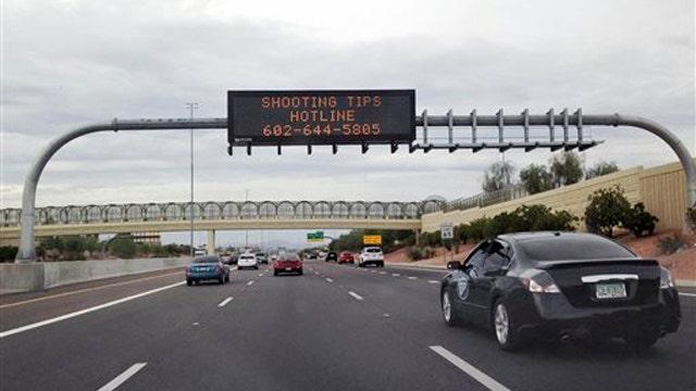 Arizona police investigate 5 new highway shooting incidents