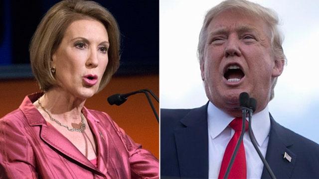 Trump backtracks on Fiorina 'face' criticism