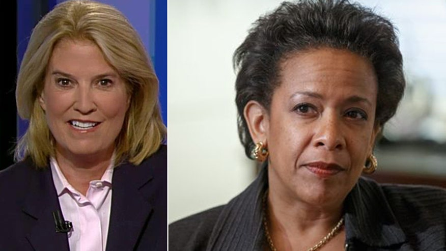 Greta's 'Off the Record' comment to 'On the Record' viewers, 9/10/15: Attorney General Loretta Lynch is showing guts by going after corporate executives in white collar crimes and not letting them off the hook