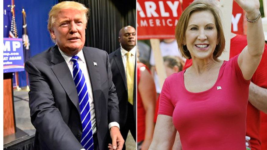 GOP 2016 frontrunner Donald Trump goes 'On the Record' to defend his controversial comments about Carly Fiorina, says Ben Carson went too far when he attacked his faith, relishes debating Hillary Clinton and gives his take on migration crisis