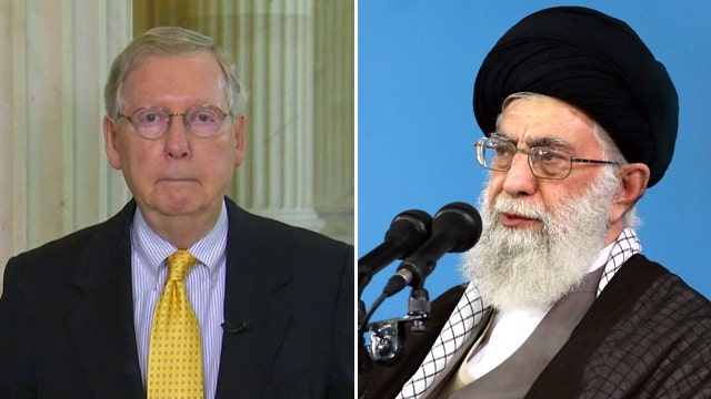 Mitch McConnell: Democrats to blame for Iran nuke deal