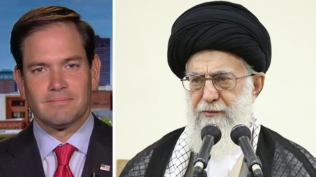 Iran nuclear agreement a done deal? Rubio says not so fast