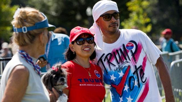 Donald Trump leads the polls in Iowa