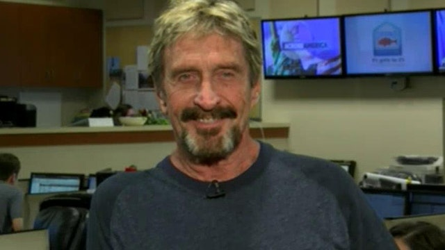 Uncut: John McAfee on why he's running for president