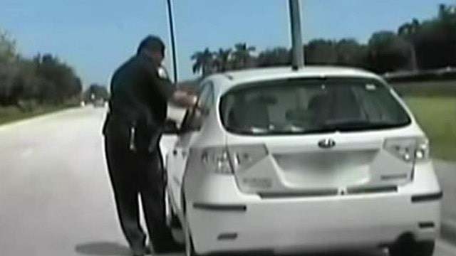 Driver to cop in traffic stop: No wonder you people get shot