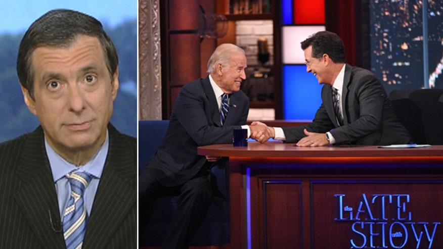 'Media Buzz' host reacts to Joe Biden interview on 'The Late Show with Stephen Colbert'