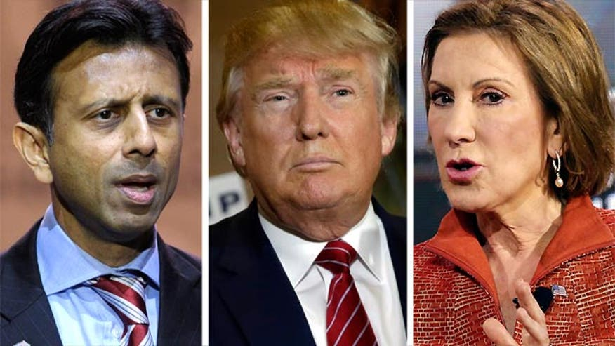 Bobby Jindal and Carly Fiorina discuss campaign politics on 'The O'Reilly Factor'