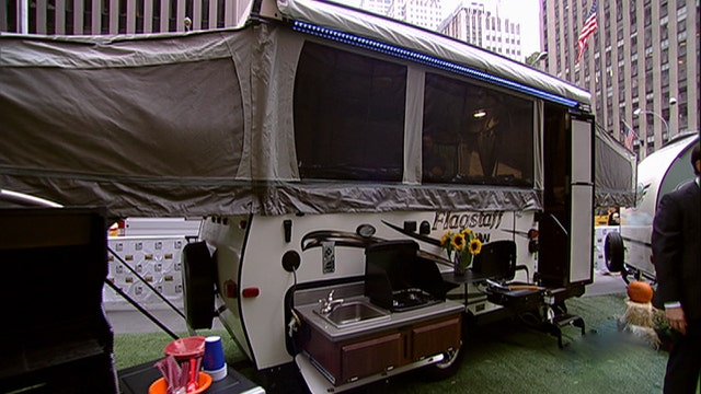 After the Show Show: Camping in style