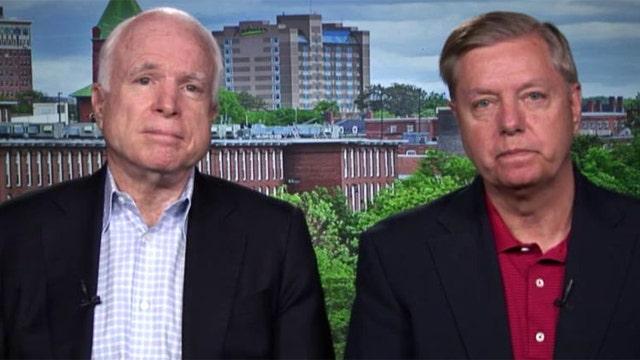 Sens. Graham, McCain on resettling displaced Syrians