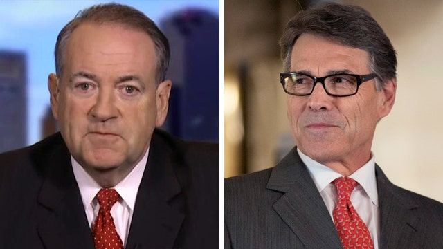 Mike Huckabee on Rick Perry's exit, Syrian refugee dilemma
