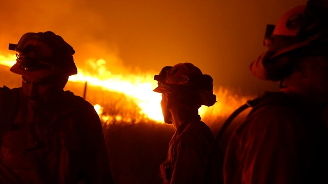 Calif. governor declares State of Emergency over wildfires