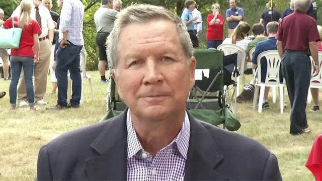 John Kasich on rising in the polls in New Hampshire