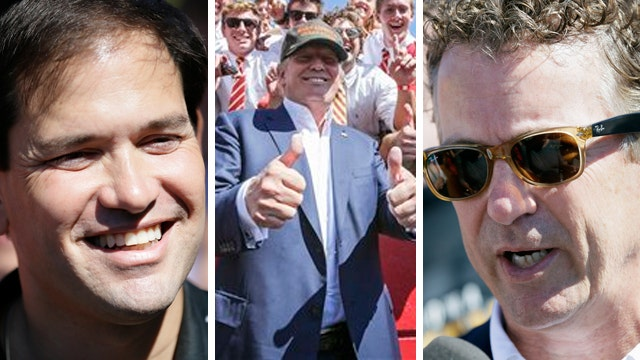 GOP presidential candidates hit the campaign trail in Iowa