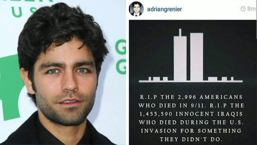 Adrian Grenier's tweet on the anniversary of September 11th sparks media firestorm