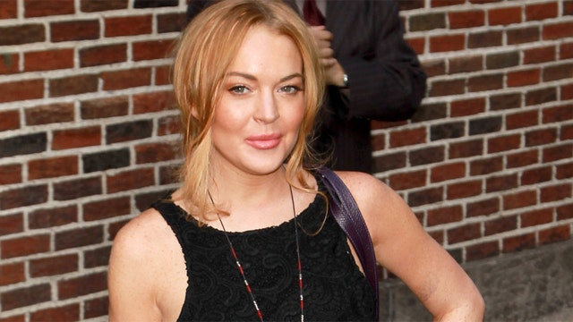 Lohan pens really weird Instagram post
