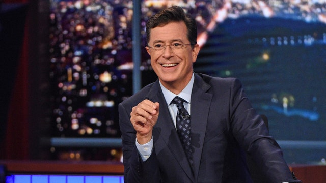Colbert's political debut