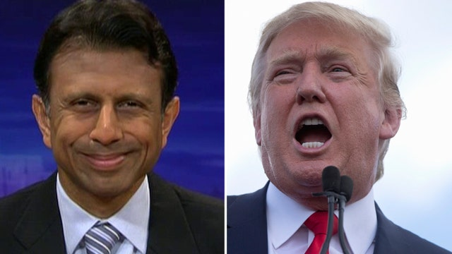 Jindal defends attacking Trump, says strategy is working