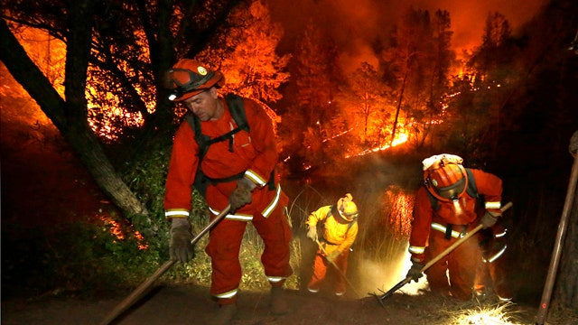 California declares state of emergency over wildfires
