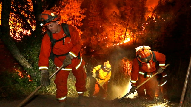 Cal Fire kicks into 'live-saving mode' as wildfires spread