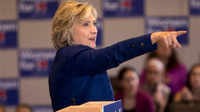 Why is Hillary losing support among women?