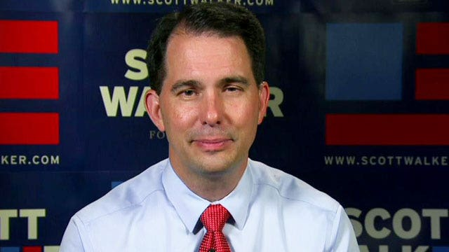 Gov. Scott Walker: 'I'm about moving this country forward'