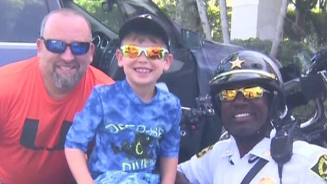 Little boy pays for Florida cop's breakfast