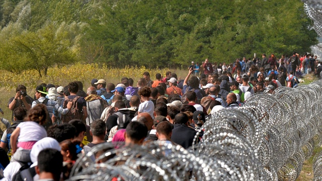 New wave of Syrian refugees enter Europe