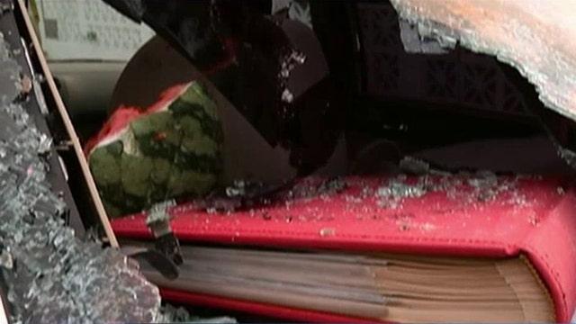 Reno police investigating watermelon attacks on cars