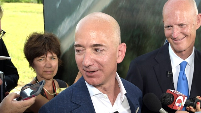 Jeff Bezos to launch rocket program at Cape Canaveral