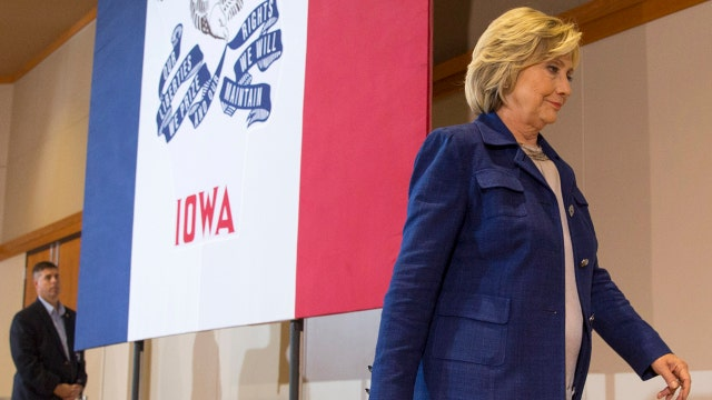 Are the wheels coming off the Clinton campaign bus?