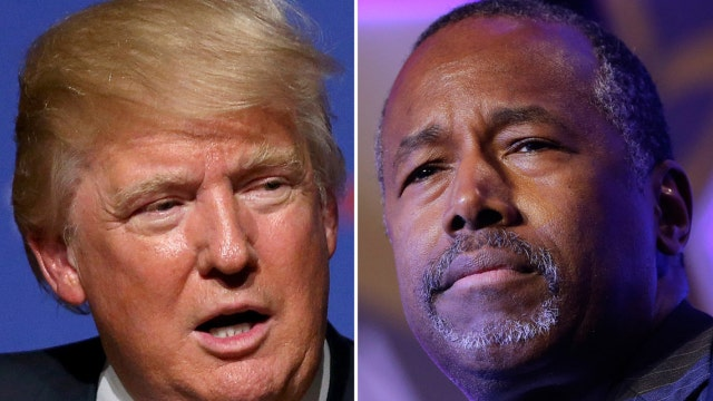 Can Dr. Ben Carson surpass Donald Trump in the polls?