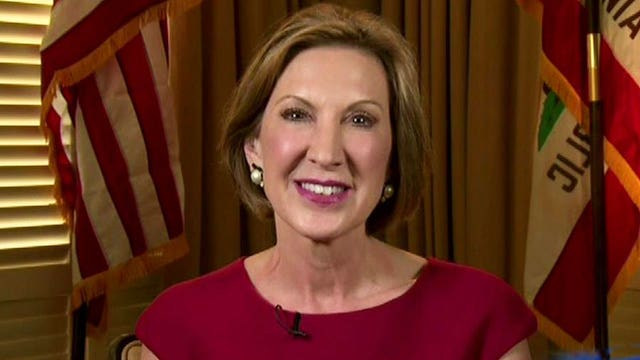 Carly Fiorina says she doesn't worry about Trump's attacks