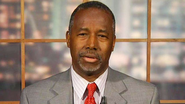 Dr. Ben Carson sounds off about his surge in the polls