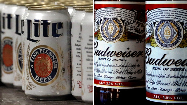 World's two biggest beer-makers could soon be joining forces