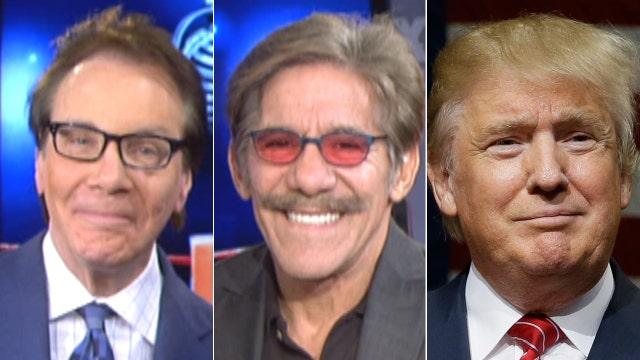 Colmes vs. Geraldo: Is Trump worth defending?