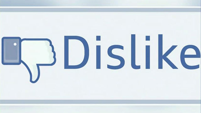 'Dislike' button to be added to Facebook