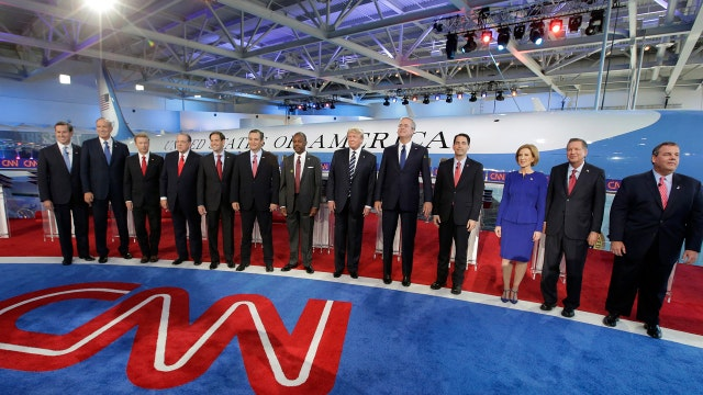 GOP candidates come out swinging in presidential debate