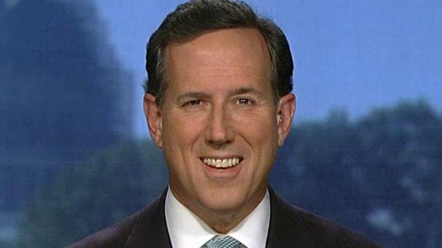 Rick Santorum slams media 'occupation' with national polls