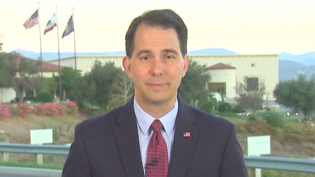 Scott Walker: I'm focused on defeating the Democrats