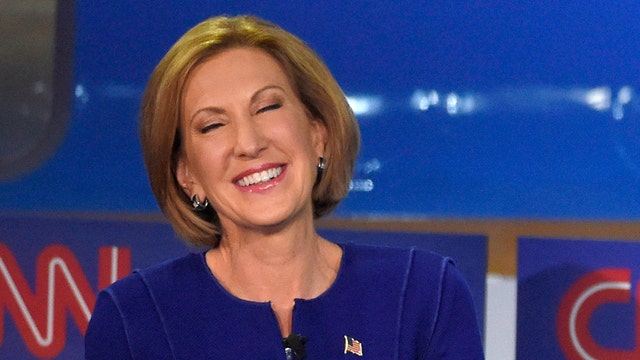 Fiorina shines in second GOP debate