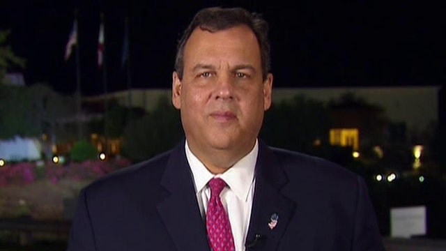 Gov. Chris Christie reflects on his debate performance