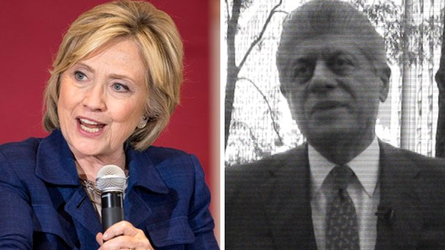 Napolitano on Hillary: The moral make-up of a common crook
