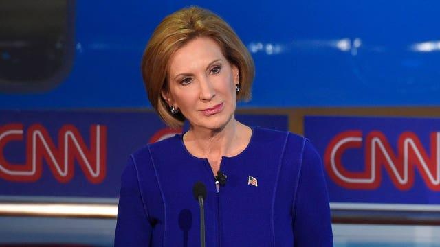 Did Carly Fiorina win the second Republican debate?