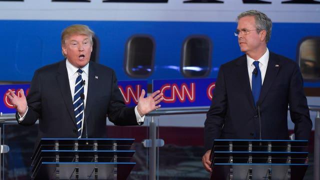 Bush vs. Trump over the governor's wife