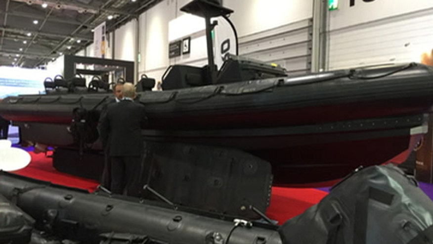 Allison Barrie reports on the hottest sights and sounds from the biggest weapons show on Earth