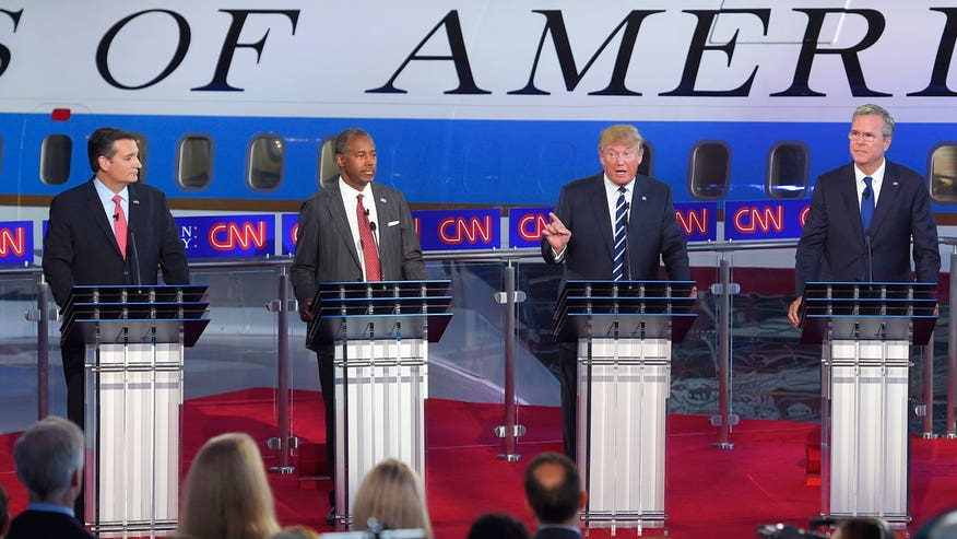 Republican presidential candidates voice frustrations with format