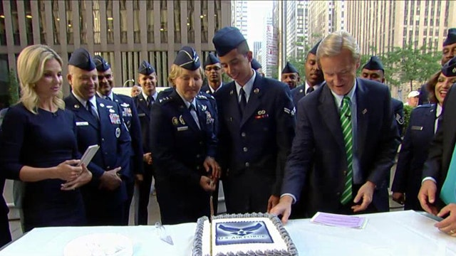 After the Show Show: Happy Birthday Air Force!