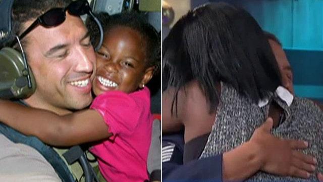 Airman reunites with his 'Katrina girl'