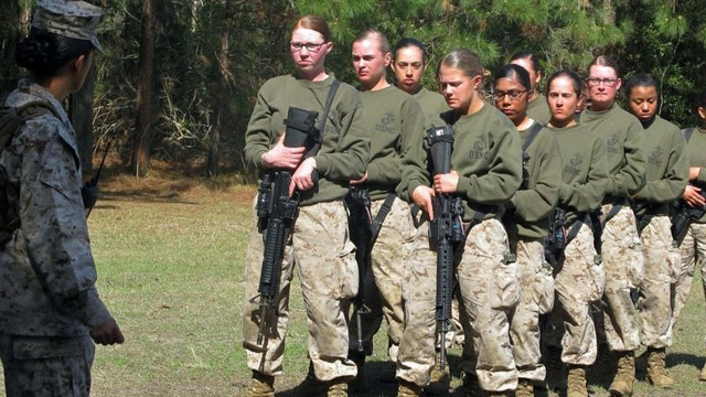 Report finds female Marines cannot meet some standards for special operations forces