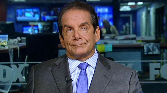 Krauthammer on why Trump is taking heat from both sides